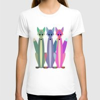 foxes T-shirts featuring Foxes by TypicalArtGuy