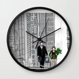 Leon the professional Mathilda Wall Clock