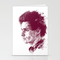 eddie vedder Stationery Cards featuring Eddie Redmayne by Chadlonius