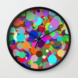 Circles #8 - 03132017 Wall Clock