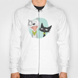 Pit and Friend Hoody
