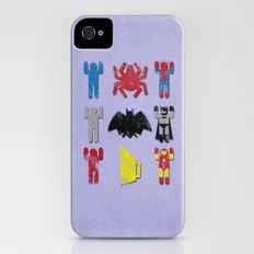Super Heroic Minimalism Remix iPhone (4, 4s) Slim Case