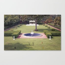 croquet at the palace Canvas Print