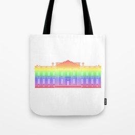 White House . Rainbow Tote Bag