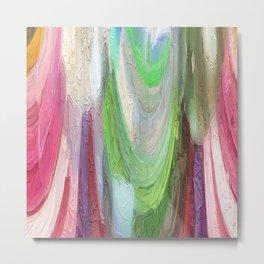 464 - Abstract Colour Design Metal Print