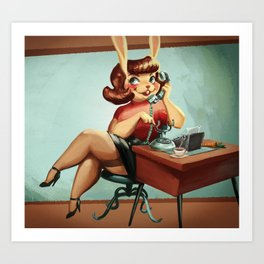 From 9 To 5 Art Print