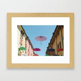 Umbrellas of Ferrara Framed Art Print