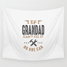 Gift for Grandad Wall Tapestry