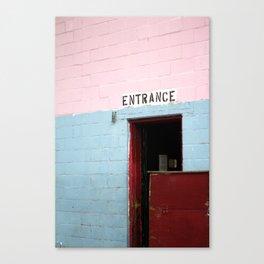 Enter Here Canvas Print