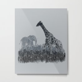The Tall Grass Metal Print