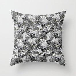 Digital Diamonds Throw Pillow