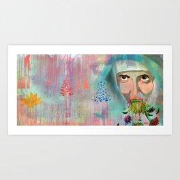 """""""Un día dejaremos de rezar y nos pondremos a vomitar flores"""" Art Print"""