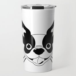 Boston Terriers Hockey Travel Mug