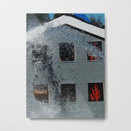Fire safety Metal Print