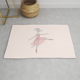 illusima Ballerina Mouse Rug