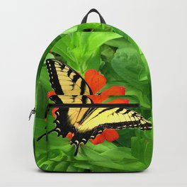Butterfly on Zinnia 3 Backpack