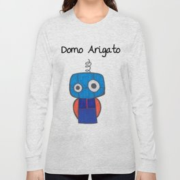 Domo Arigato Mr. Roboto Long Sleeve T-shirt