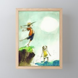 Summertime Framed Mini Art Print