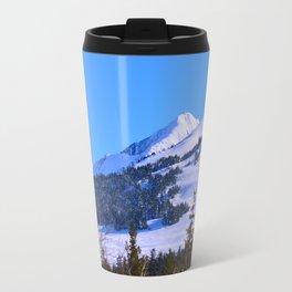 Back-Country Skiing  - IV Travel Mug