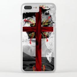 VELVET CHURCH Clear iPhone Case