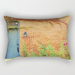 Portsmouth NH Door Rectangular Pillow