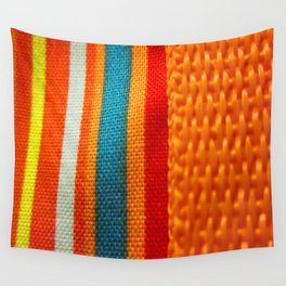 in woven color Wall Tapestry