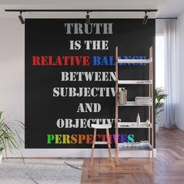 Truth Wisdom Wall Mural
