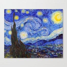 "Vincent Van Gogh "" Starry Night "" Canvas Print"