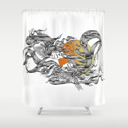 Shiva Shakti Shower Curtain