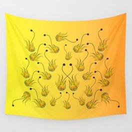 Fire poi geometric Wall Tapestry