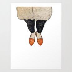 Shoe-In Art Print