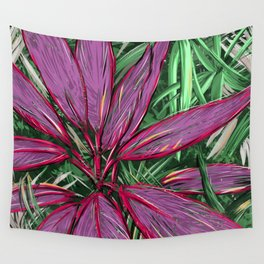 Florida  Tropical Colors Wall Tapestry