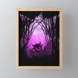 Forest of Monsters - Purple Framed Mini Art Print