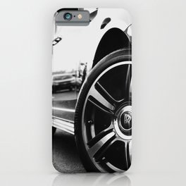 Rolls Rims // Black and White Luxury Super Car Photography Real Life Street Shots iPhone Case