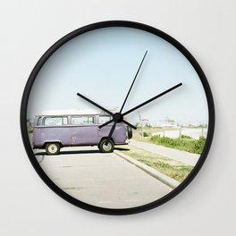 The Purple Combi Wall Clock