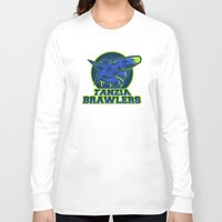 monster hunter Long Sleeve T-shirts featuring Monster Hunter All Stars - The Tanzia Brawlers by Bleached ink