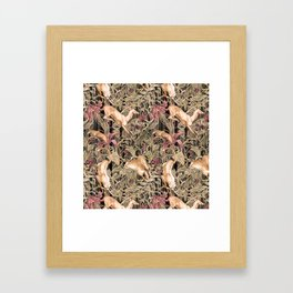 Wild life pattern Framed Art Print