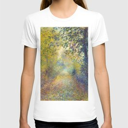 "Auguste Renoir  ""In the Woods"" T-shirt"