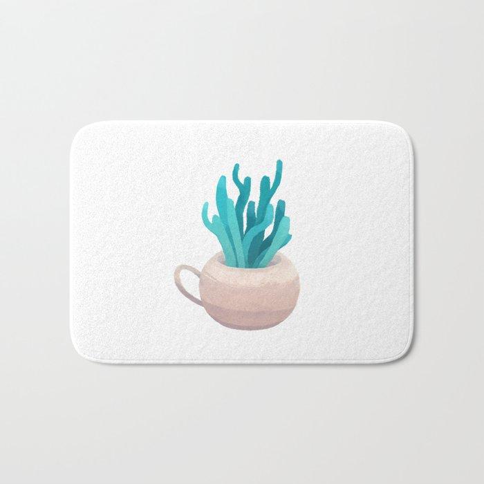 small vase I Bath Mat
