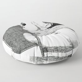 NUDEGRAFIA - 37 Rope Floor Pillow