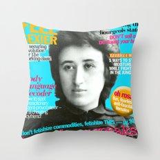 COSMARXPOLITAN, Issue 13 Throw Pillow