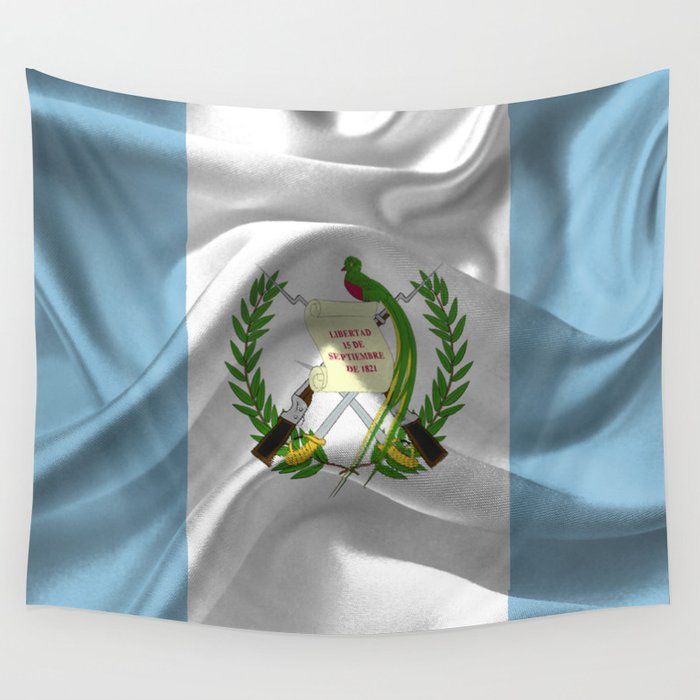 Guatemala Flag Wall Tapestry By Needthreads Society6