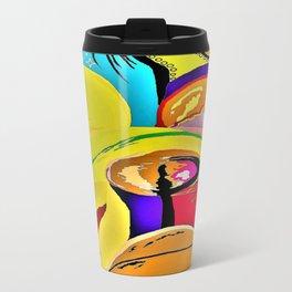 Bulldog Close-up Travel Mug
