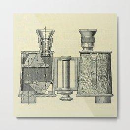 Binoculars Metal Print