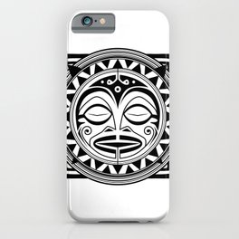 Sleeping God iPhone Case