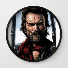 Clint - The Outlaw Josey Wales Wall Clock