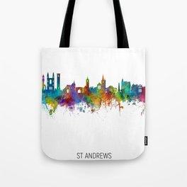 St Andrews Scotland Skyline Tote Bag