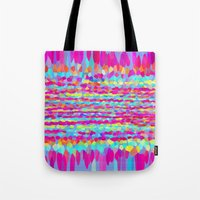 fringe Tote Bags featuring Fringe by Mistflower