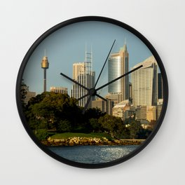 Mrs Macquarie's Chair, Sydney Wall Clock