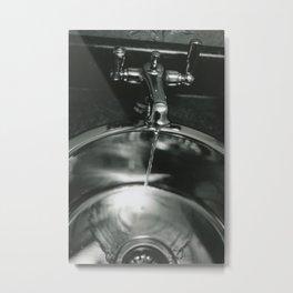 Funeral Sink Metal Print